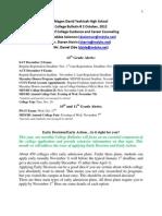 October 2012 College Bulletin (2)