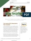 The Leaflet- Summer 2012