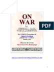 Carl Von Clausewitz - On War