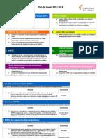 Réseau REPTIC - Plan de travail 2012-2013