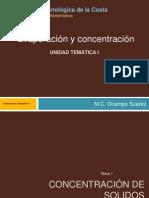 Evaporacion y Concentracion