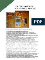 Calculo de Cables de Las Instalaciones Electricas