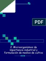 Microorganismos de Interes Industrial
