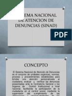 Sistema Nacional de Atencion de Denuncias (Sinad