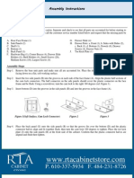 Assembly Instructions for Standard Base Cabinets