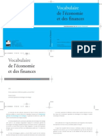 Vocabulaire Economie Finances