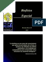 biofisica 1º semana 1 clase