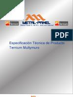 Multymuro Ternium Multypanel PDF