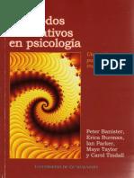 Metodos Cualitativos en Psicologia Una Guia Para La Investigacion Universidad de Gaudalajara