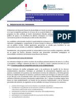 Convocatoria 2013-2014