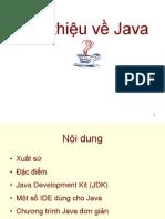 Gioi Thieu Ve Java
