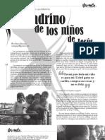 """2010 Crónica. """"El padrino de los niños de Jesús""""."""