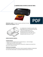 Limpieza de Impresora
