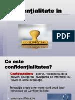 Confidentialitate in Afaceri