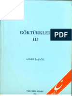 Göktürkler - Ahmet Taşağıl  3. Cilt (3 Cilt)