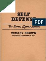 31741508 Self Defense by Wesley Brown