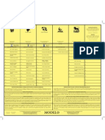 Modelo de la papeleta municipal Ponce