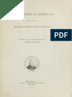 Explorations in Turkestan Raphael Pumpelly