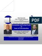 Dr. Hart and Dr. Dougherty Visit Fisk University