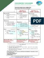 Menus y Presupuestos 2012-2013