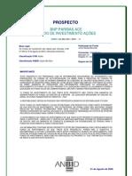 FUNDO DE INVESTIMENTO AÇÕES - REG_BNP_PARIBAS