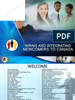 Hiring and Integrating Newcomers Powerpoint