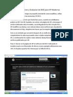 Tutorial de Edicion y Grabacion de BIOS Para HP Modernas