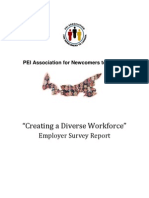 Creating a Diverse Workforce Report