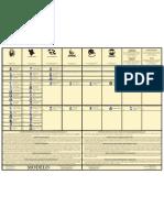 Modelo de la papeleta legislativa, Precinto Núm. 62