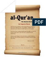 Quran the Linguistic Miracle
