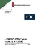 Sistemas Operativos y Redes de Internet