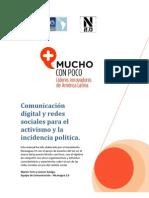 Comunicación Digital y Activismo en Redes Sociales.