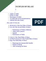 Principles of Islam (Www.islam.co.Cc)
