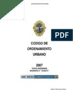 Codigo de Ordenamiento Urbano San Isidro