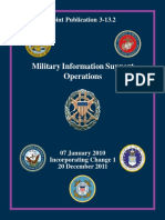 Joint Publication 3-13.2 Military Information Support Operations