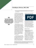 Zelikow Reflections on Reform 18Sep2012
