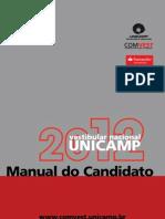 Manuel Candidato Unicamp 2012