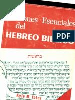 Nociones Esenciales Del Hebreo Biblico_por_Yates-Kyle