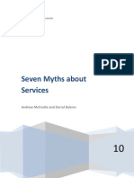 7 Myths About Services