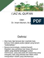 8_I'JAZ AL-QUR'AN