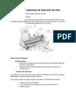 Limpieza de la impresora de inyección de tinta