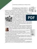 CONTEXTO HISTÓRICO DEL SURGIMIENTO DE LAS CIENCIAS SOCIALES