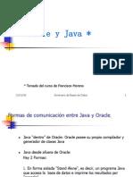 Oracle y Java