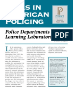 Maguire (2004) - Police Departments as Learning Laboratories