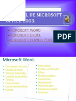 Tutorial de Microsoft Office 2003