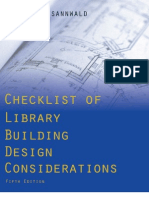 Checklist of Library Building Design Considerations - Summery - 9780838909782