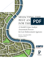 Amendola Et Al. (2010) - Selecting the Best Analyst for the Job