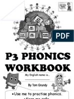 Tom's TEFL - P3 Phonics Workbook