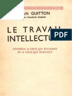 Le travail intellectuel - Jean Guitton.pdf