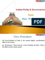 6(a)Vice-President of India